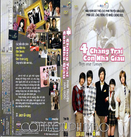 4 Chang Trai Con Nha Giau - Boys Over Flowers