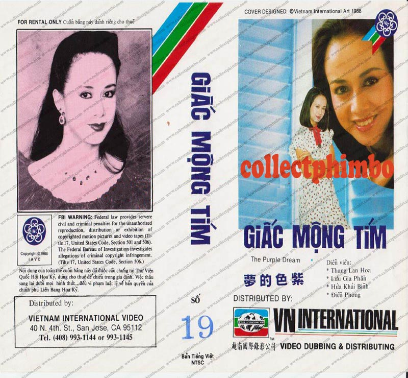 Giac Mong Tim - The Purple Dream