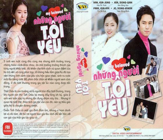 Nhung Nguoi Toi Yeu - The Person I Love