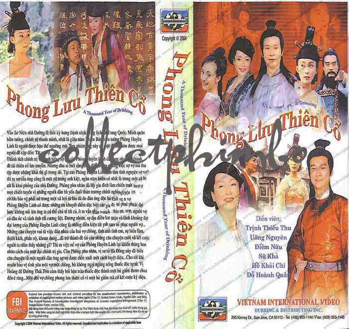 Phong Luu Thien Co - A Thousand Year of Drinking