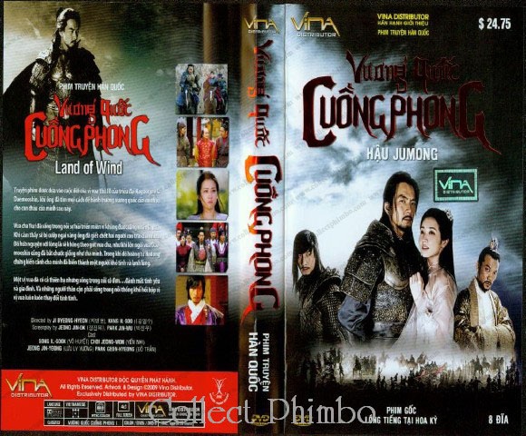 Vuong Quoc Cuong Phong Part 1 - Land of Wind Part 1 (Hau Jumong)