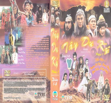 Tay Du Ky I - Journey To The West I (TVB)
