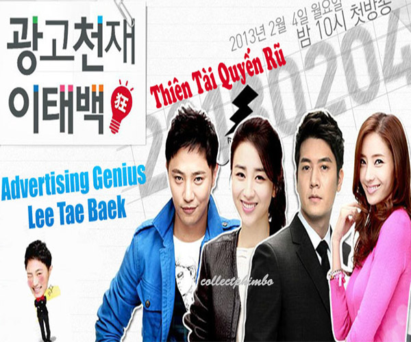 Thien Tai Quyen Ru - Advertising Genius Lee Tae Baek